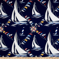 Waverly Set Sail Nautical Duck