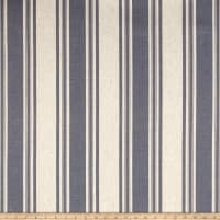 Waverly Thames Stripe Indigo Linen