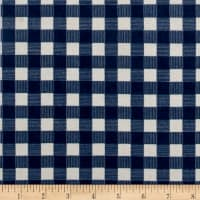 Riley Blake High Adventure Plaid Flannel  Blue