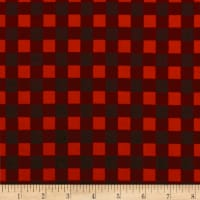 Riley Blake High Adventure Plaid Flannel Red