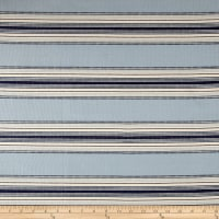 Laura & Kiran Monaco Stripe Canvas Nautical Blues