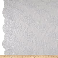Telio Veronica Lace Embroidery White