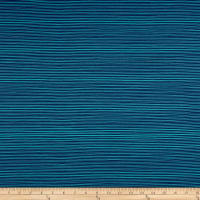 Stof Avalana Jersey Knit Stripe Green/Blue
