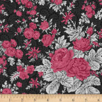 Rouge et Noir Flowery Bliss Dark Gray