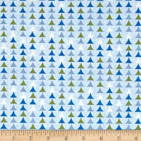 Nature Friends by Ellen Crimi-Trent Y2263 Light Blue