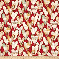 Love Song Hearts Red