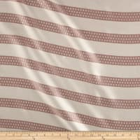 Apparel Metallic Dotted Stripe Jacquard Blush