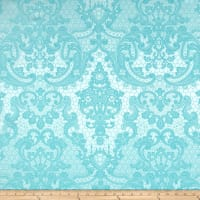 Lovely Lace Jacquard Aqua