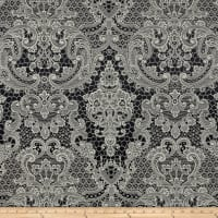 Apparel Lovely Lace Jacquard Noir