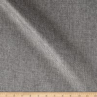 Machine Washable Empire Burlap Silver