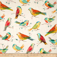 All A Twitter Digitally Printed Bird Spring