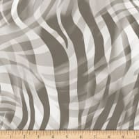"Zebra Skins 108"" Wide Back Digital Gray"