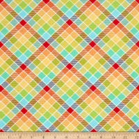 Side By Side Plaid Multi