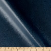 Breathable Faux Leather Navy