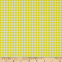Swimwear Knit Gingham Citrus