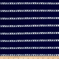 Swimwear Nautical Stripe Navy/White