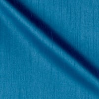 Worldly Faux Dupioni Silk Azure
