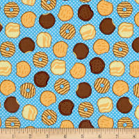 Riley Blake Girl Scouts Cookies Blue