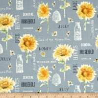 Bee My Sunshine Collage Grey