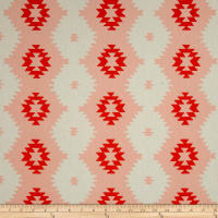 Daring Tribal Sunset Peach