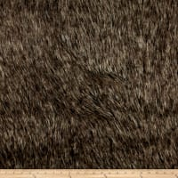 Michael Miller Desert Fox Faux Fur Grey