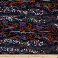 M&S Textiles Australia Sandy Creek Purple