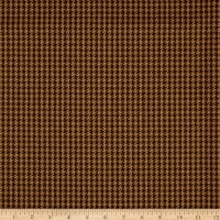 Ralph Lauren Home LCF19025F Chesterfield Houndstooth Chestnut