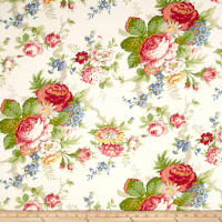Ralph Lauren Home LCF28778F Garden Club Twill White