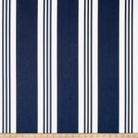 Ralph Lauren Home Outdoor Sunbrella Patio Stripe Blue