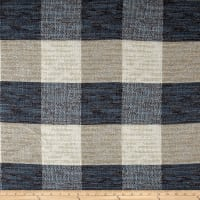 Buffalo Check Basketweave Indigo