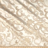 Jacquard Swirls Gold/Cream