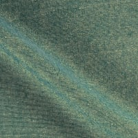 Kaufman Essex Yarn Dyed Metallic Linen Blend Emerald
