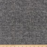 Kaufman Essex Linen Canvas Yard Dyed Black