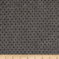 Kaufman Sevenberry Classiques Chambray Dots Shadow