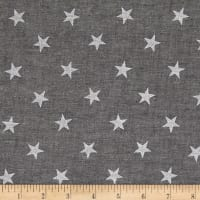 Kaufman Sevenberry: Classiques Chambray Stars Black