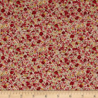 Kaufman Sevenberry: Petite Garden Lawn Flowers Red