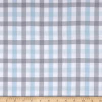 Kaufman Brooklyn Plaid Flannel Blue