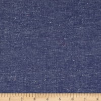 Kaufman Neon Neppy Chambray Royal