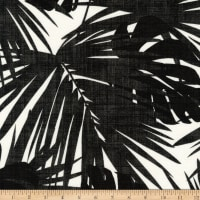 Kaufman Sevenberry Island Paradise Canvas Black