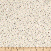 Kaufman Baby Bunting Dots Flannel Multi
