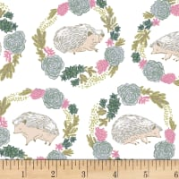 Dear Stella Garden Sanctuary Hedgehogs White