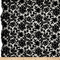 Telio Rosie Corded Lace Black