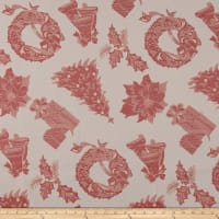 Christmas Craze Holly Jacquard