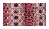 Designer ITY Knit Overlapping Paisley Pink/Orange/Multi