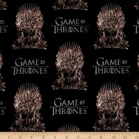 HBO Game Of Thrones The Iron Throne Black