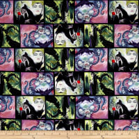 Disney Villains Villains Patch Movie Art Multi