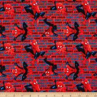 Marvel Spiderman Spidey Sense Red