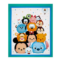 "Disney Tsum Tsum 36"" Panel Teal Green"