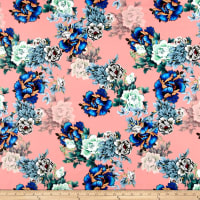 Pine Crest Fabrics Vintage Floral on Olympus Athletic Double Knit Multi