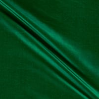 100% Silk Shantung Green